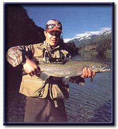 Salmon fishing - Patagonia