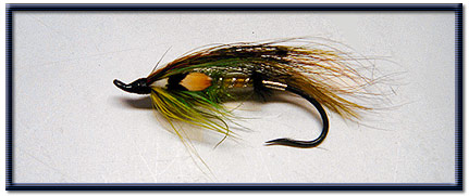 Atlantic salmon fly